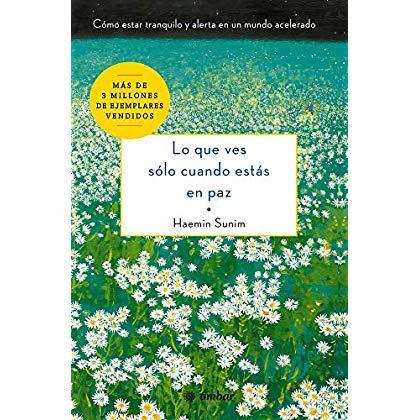 Lo que ves sólo cuando estás en paz: Cómo estar tranquilo y alerta en un mundo acelerado (Spanish Edition)