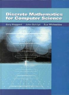 Discrete Mathematics for Computer Science