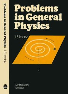 Irodov – Problems in General Physics