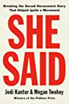 Download [PDF] She Said Breaking The Sexual Harassment Story That Helped Ignite A Movement